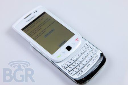 BlackBerry Torch 9800 Bianco