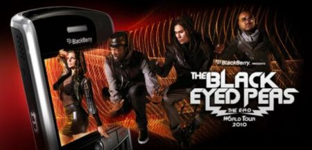 BlackBerry e Black Eyed Peas