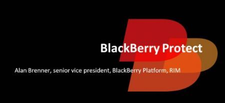 BlackBerry Protect logo