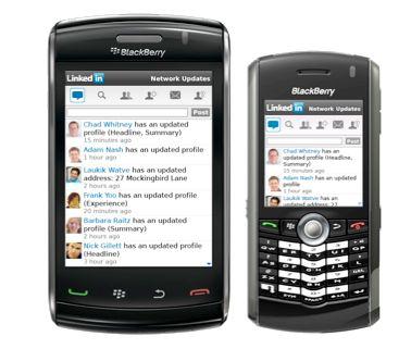 LinkedIn for BlackBerry