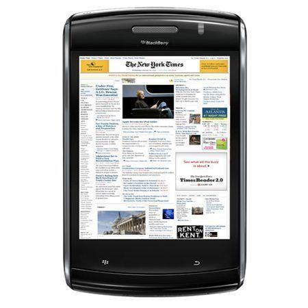 Rumorred BlackBerry Tabled