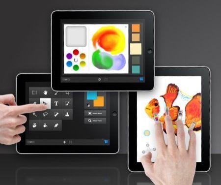 Adobe Eazel, Nav e Color Lava per iPad