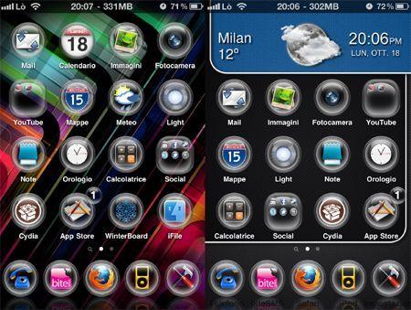 Tema iPhone G.O.C. HD
