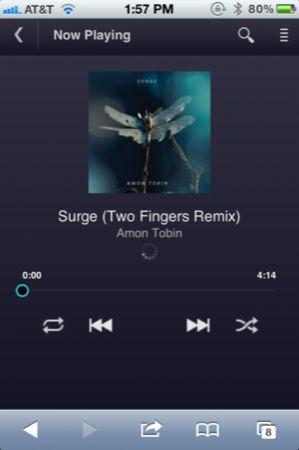 Google Music disponibile per iPhone grazie alla Web-app in HTML5