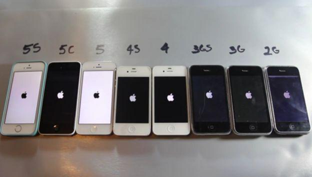 iPhone confronto prestazioni tra tutti i modelli