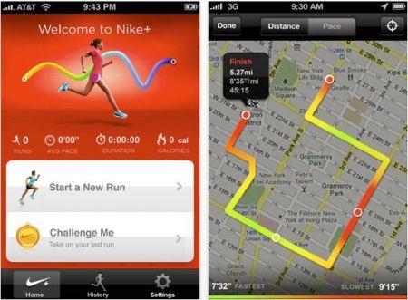 Nike + GPS per iPhone