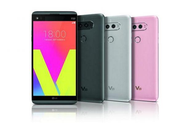 LG V20 colori