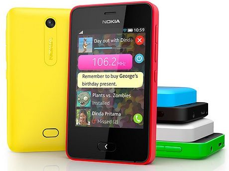 Nokia Asha 501 colori
