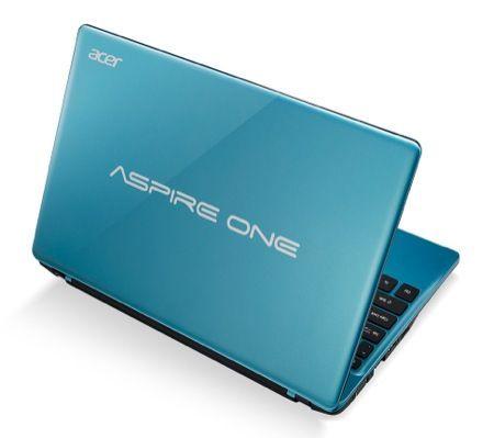 Acer Aspire One 725, nuovo laptop con schermo ad alta luminosità