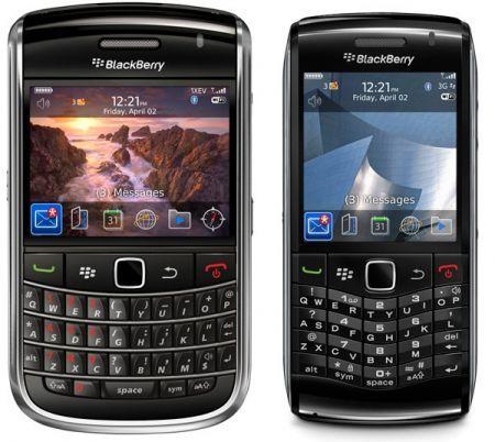BlackBerry Bold 9650 e BlackBerry Pearl 3G