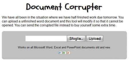 Document Corrupter