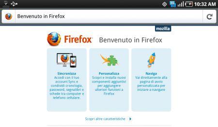 Mozilla Firefox 4 Android