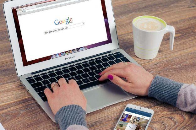 lavoro su pc con google