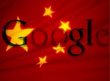 google censura cina