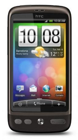 HTC Desire e Android Gingerbread