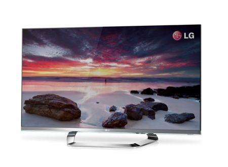 CES 2012: LG Cinema Screen, la Smart TV LCD con il bordo invisibile