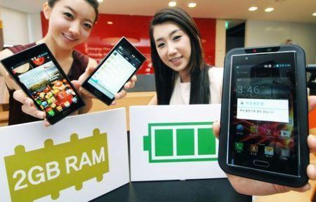 LG Optimus LTE 2, arriva lo smartphone con 2 GB di RAM