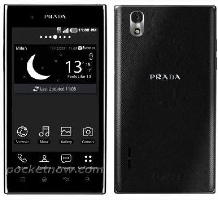 LG P940 Prada 3.0, arriva la prossima settimana lo smartphone alla moda