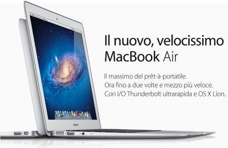 MacBook Air Mac OS X Lion
