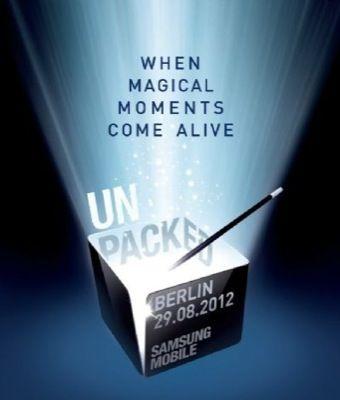 Samsung Galaxy Note 2: presentazione all'IFA 2012 prima confermata, poi smentita
