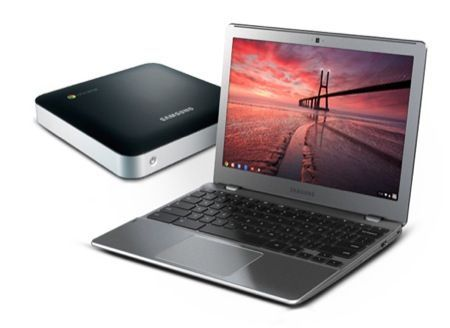 Samsung Serie 5 Chromebook e Chromebox, il rilancio di Chrome OS