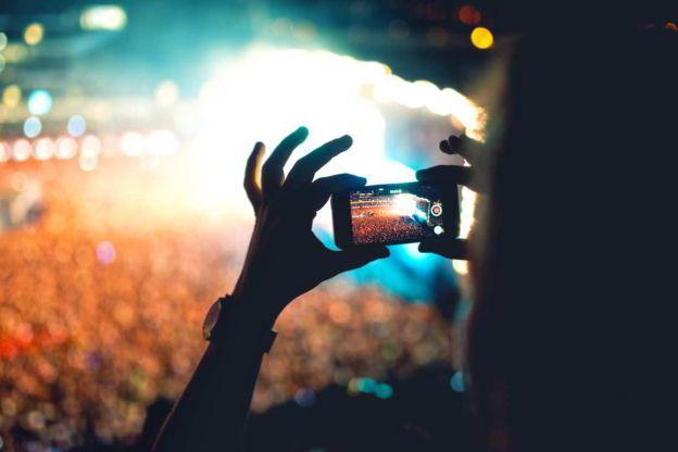 video con smartphone