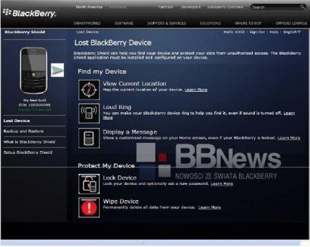 BlackBerry Shield: La soluzione di Rim alla sicurezza dei propri BlackBerry