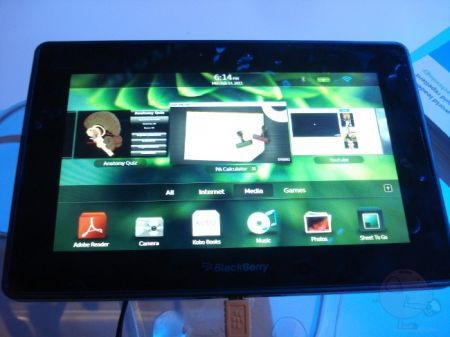BlackBerry PlayBook in Europa ad Aprile 2011?!