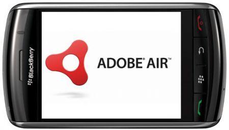 MWC 2010: Adobe Air presto sui palmari Rim BlackBerry