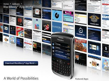 BlackBerry App World disponibile ma non per noi