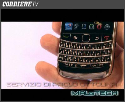 Corriere della Sera: MALdiTECH presenta BlackBerry Bold 9700