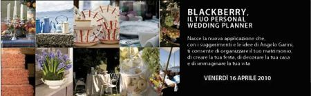 BlackBerry Wedding Planner