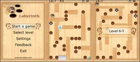 Labyrinth per BlackBerry Storm in versione gratuita