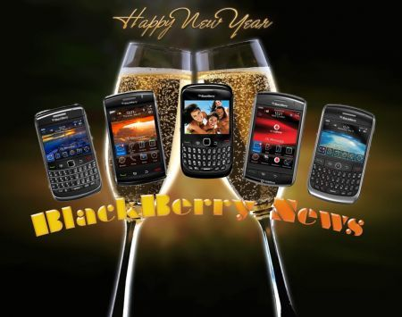 BlackBerry News Happy New Year 2010