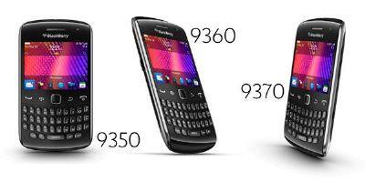 Rim rinnova BlackBerry Curve introducendo tre nuovi modelli