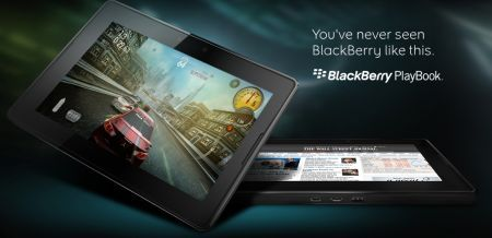 BlackBerry PlayBook: Il tablet secondo BlackBerry svelato al mondo