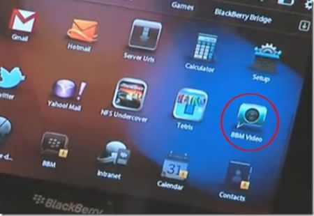 BlackBerry PlayBook: BBM Video, l'app per le videochiamate sul tablet di RIM