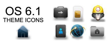 Temi BlackBerry: disponibili le icone di BlackBerry 6.1