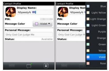 BlackBerry Messenger 6, ecco le prime immagini
