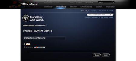 BlackBerry App World 2.0: da oggi si può acquistare le applicazioni dal portale Web
