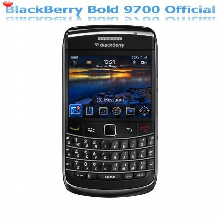 BlackBerry firmware ufficiale 5.0.0.351 per BlackBerry Bold 9700