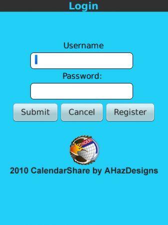 Applicazioni BlackBerry: CalendarShare, condividi i tuoi eventi gratis