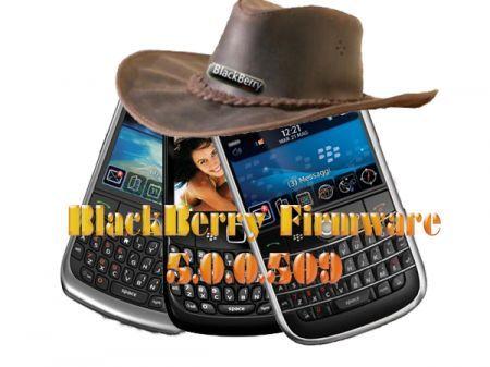 BlackBerry firmware 5.0.0.509