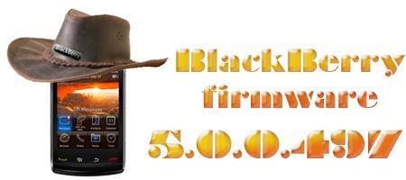 BlackBerry Storm2 9520: Firmware ufficiale 5.0.0.497 da Vodafone Italia