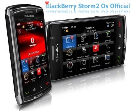 OS 5.0.0.306 ufficiale per BlackBerry Storm2 9520