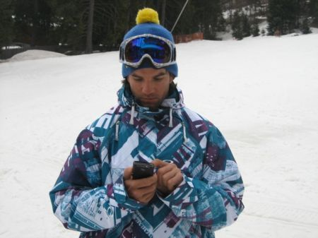 BlackBerry Storm2 arriva in Alaska grazie allo snowboarder Alberto Schiavon