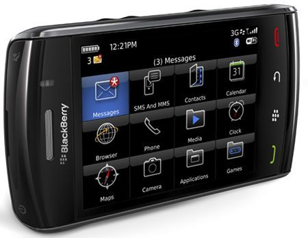 Verizon richiama BlackBerry Storm2 per un problema al touchpad. E noi italiani?