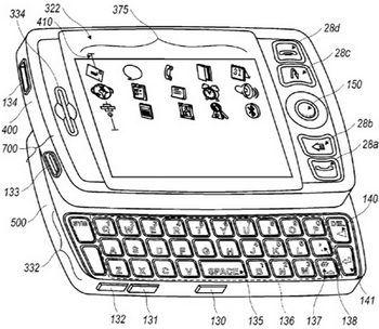 BlackBerry Storm2 detail