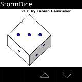 Simulatore di dadi per Blackberry Storm