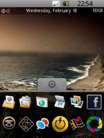 BDroid un tema per Blackberry Storm stupendo